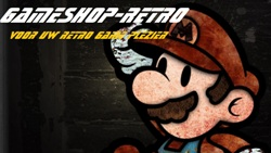 Gameshop-retro
